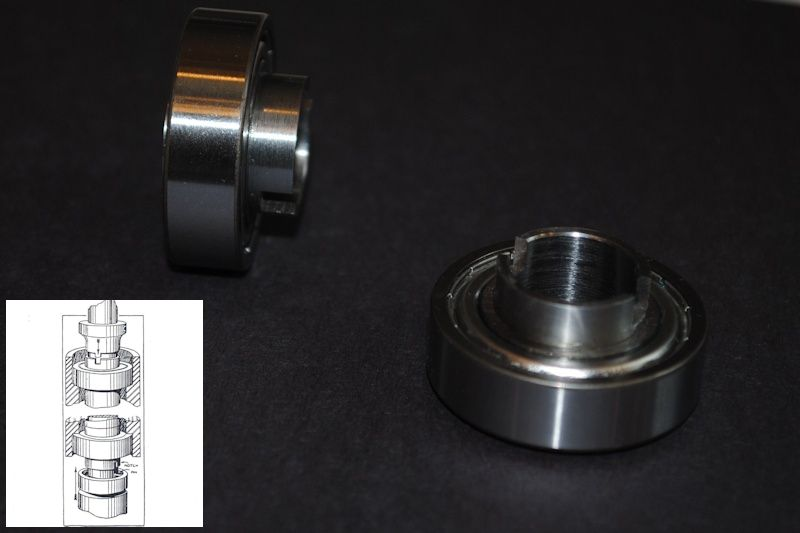 ND-88100 spindle bearings composite