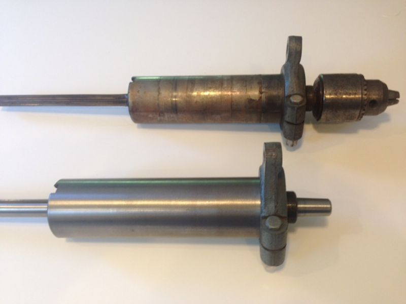 Delta 15 inch spindle and quill rebuild